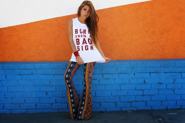 the river wolf t-shirt pants jewels