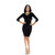 Crush On You Dress - Black | Vanity Row