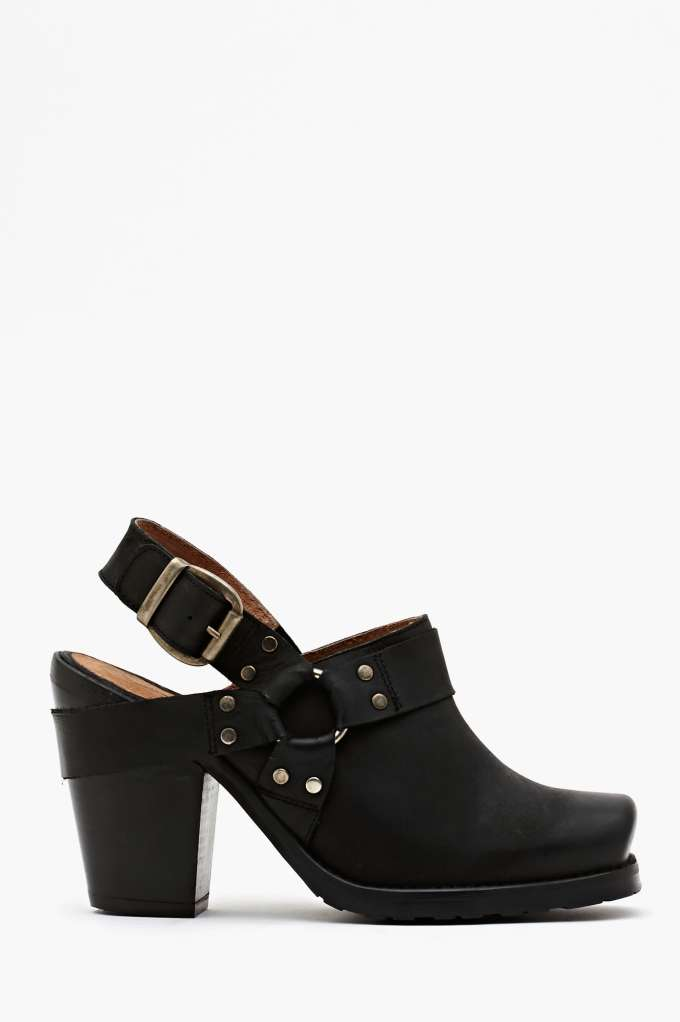 SixtySeven Michelle Ankle Strap Boot in  Shoes Booties at Nasty Gal