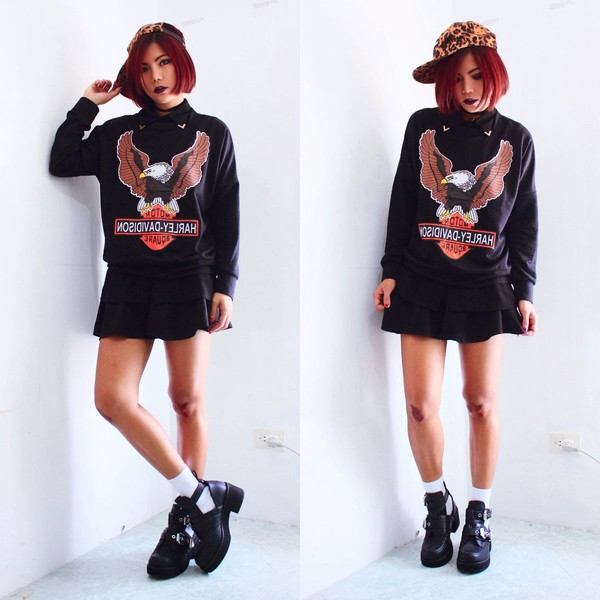 born to bother you skirt sweater t-shirt shoes
