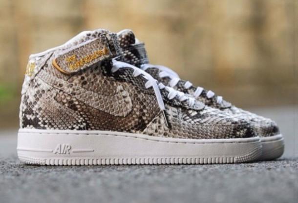 shoes crocodile nike nike air force