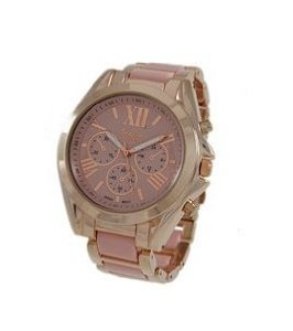 Amazon.com: Geneva Platinum 12468112-PINK/ROSE GOLD Women's Roman Numerals Decorative Chronograph Link Watch: Watches