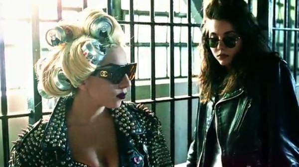 sunglasses chanel lady gaga telephone video