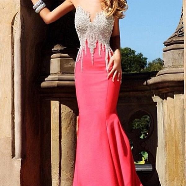 dress pink dress zilver