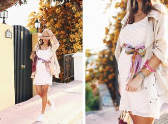 seams for a desire blogger coat dress shoes scarf bag jewels t-shirt