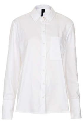 Staple Cotton Shirt by Boutique - Topshop