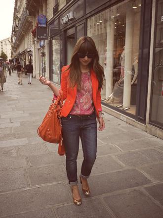 valentine blouse jacket t-shirt