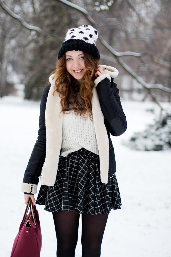 kolorowa dusza jacket sweater skirt jewels bag shoes