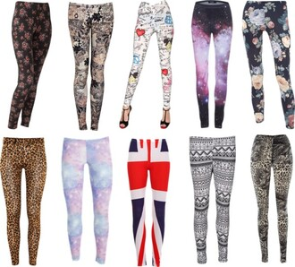 pants ethnic animal print flowers comics galaxy print galaxy leggings ethnic print leopard print uk flag leggings aztec athletic yoga pants fitness union jack