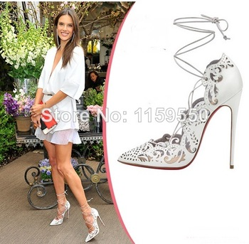 Aliexpress.com : Buy Elegant fashion women nude wedding dress red bottom high heels platform pumps with bow size 11 12 13 from Reliable dresses sundress suppliers on claire store