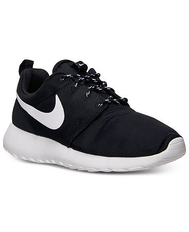 Nike Women's Rosherun Casual Sneakers from Finish Line - Kids Finish Line Athletic Shoes - Macy's