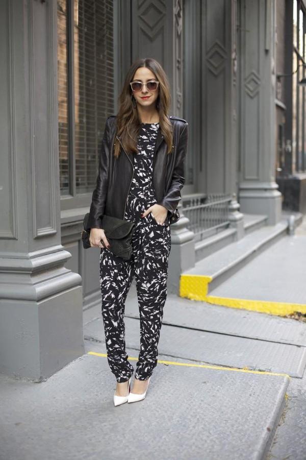 something navy pants shoes jacket sunglasses