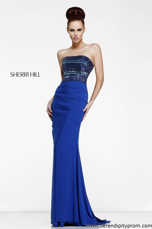 Serendipity Prom -Sherri Hill 11033 dress - Sherri Hill Fall 2013 - sherri11033