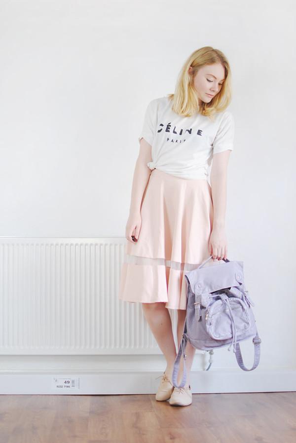 this fashion is mine skirt t-shirt