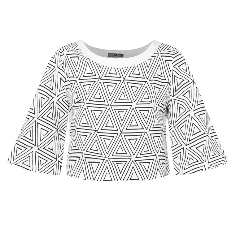 Woven Cropped Top | Mcclaugherty
