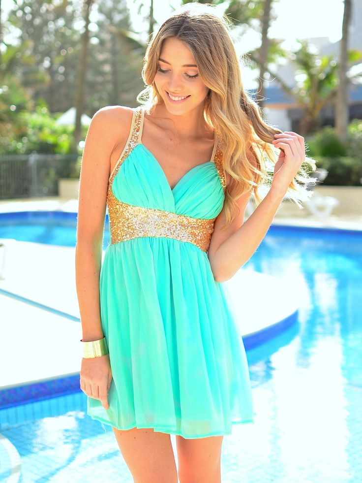 Sparkle Me in Mint is the perfect dress for that special ... | Gifts