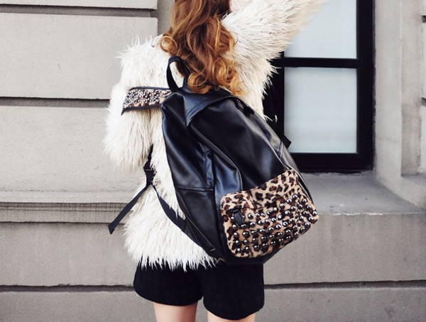 bag fashion backpack coat