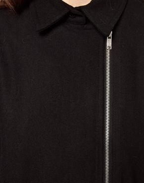 Cheap Monday   Cheap Monday Collar Coat at ASOS