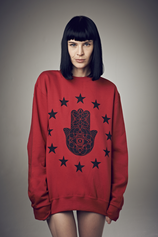 iamVibes Clothing — Unisex Cosmic Karma Sweater