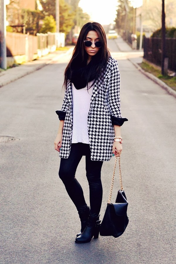 disturbed style shirt pants scarf shoes bag sunglasses