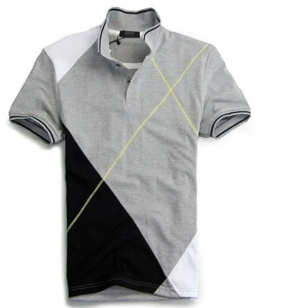 利郎 t-shirt grey blouse black blouse white blouse blouse