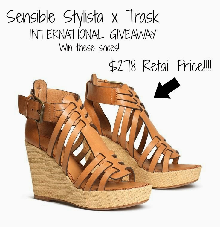 Sensible Stylista: Trask Giveaway - Win $258 Sandals!