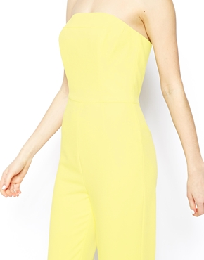 ASOS | ASOS Jumpsuit in Bandeau with Wide leg at ASOS