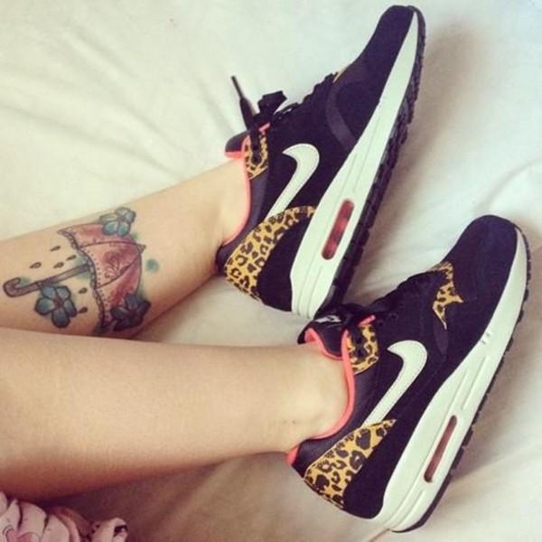 shoes nike air max leopard print sneakers air max