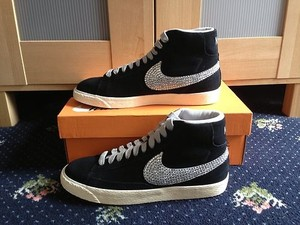 Customised Bling Ladies Nike Blazers Size 3 4 5 6 7 8 | eBay