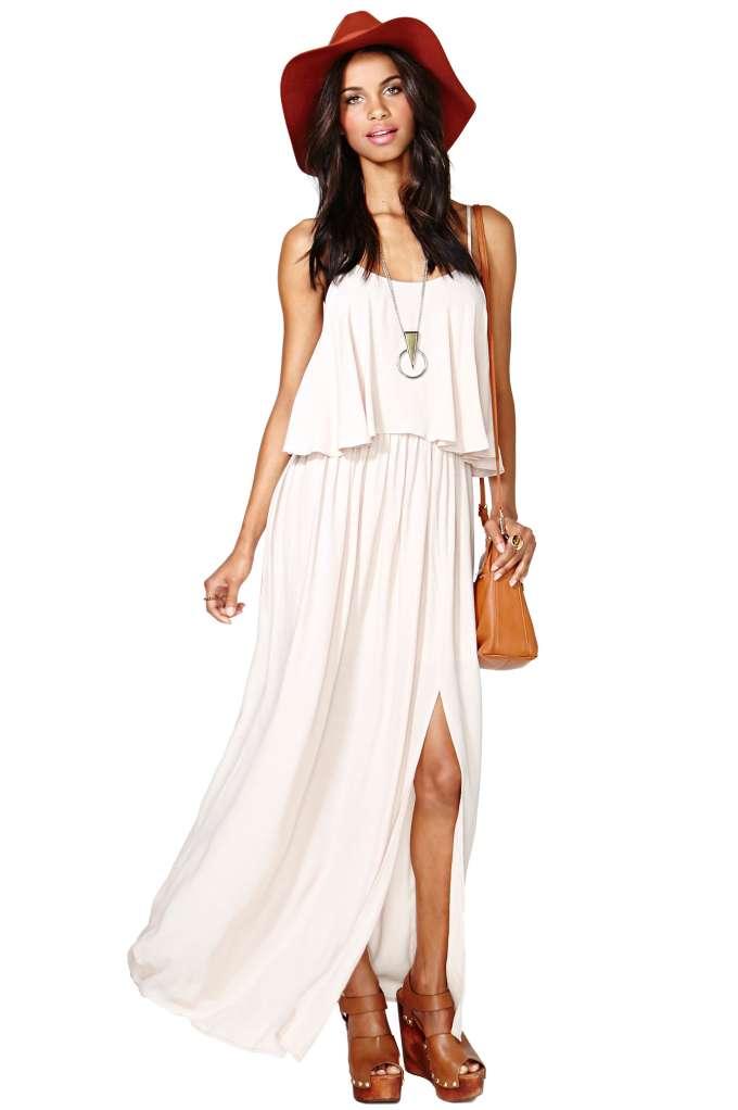Aviva Maxi Dress   Shop Clothes at Nasty Gal