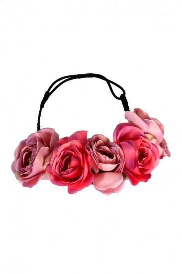 LoveMelrose.com From Harry & Molly   Flower Headbands
