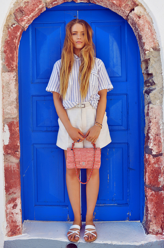 kayture top shoes bag jewels preppy boyish french girl style