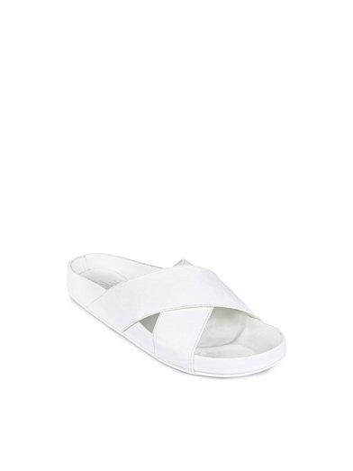 Criss Cross Sandal - Nly Shoes - Wit - Casual Schoenen - Schoenen - Vrouw - Nelly.com