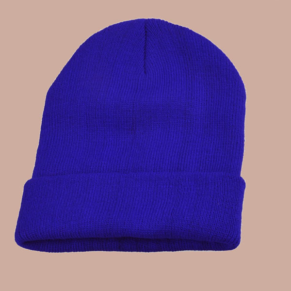 Royal Blue Neon Colors New Beanie Cuff Blank Plain Ski Knit Cap Skull Beany | eBay