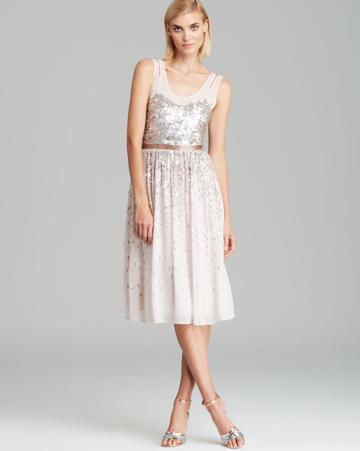 FRENCH CONNECTION Dress - Shimmer Shower | Bloomingdale's