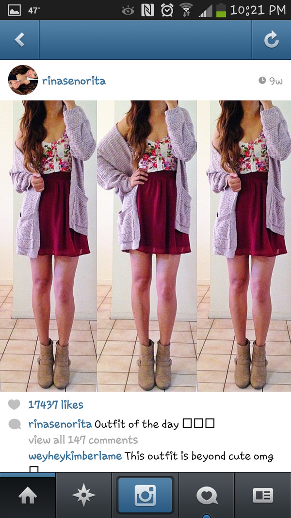 dress red dress pink sweater purple floral sleveless coat shorts jacket tank top shoes