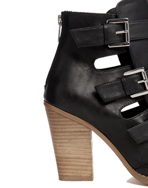 ASOS | ASOS ENVY Leather Ankle Boots at ASOS