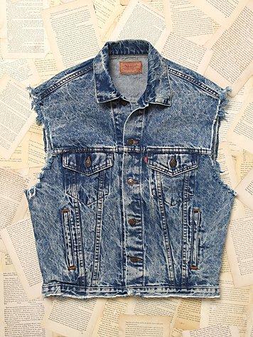 Vintage Levi's Denim Vest