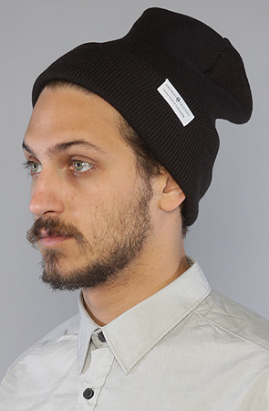 Amongst Friends The Tall Workers Beanie in Black -  Karmaloop.com