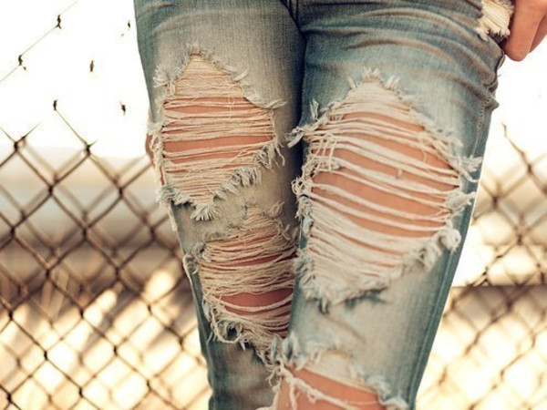 jeans clothes ripped pants