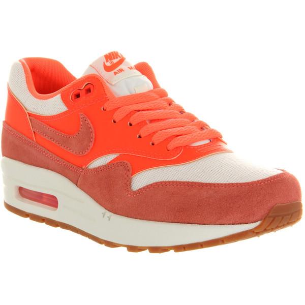 Nike Air max 1 (l) bright mango - Polyvore