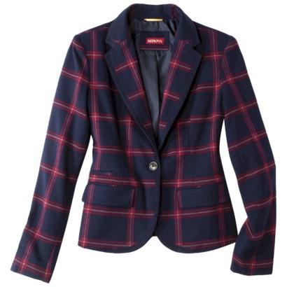 Merona® Women's Oxford Blazer - Assorted Prints : Target