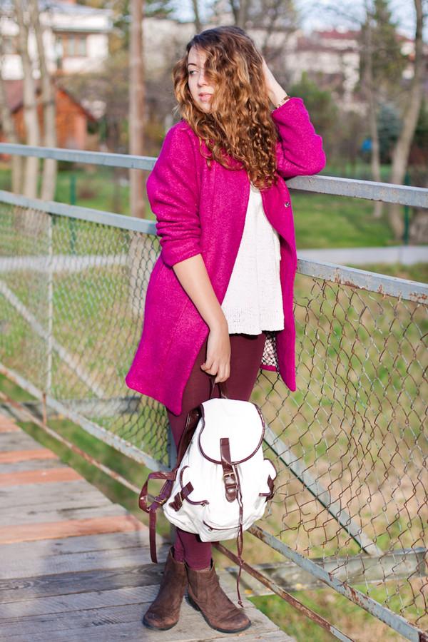kolorowa dusza coat sweater pants jewels shoes