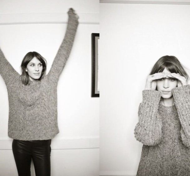 sweater alexa chung