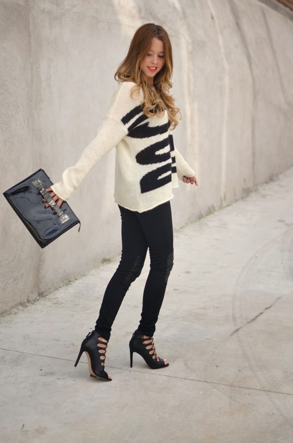our favourite style sweater pants bag shoes