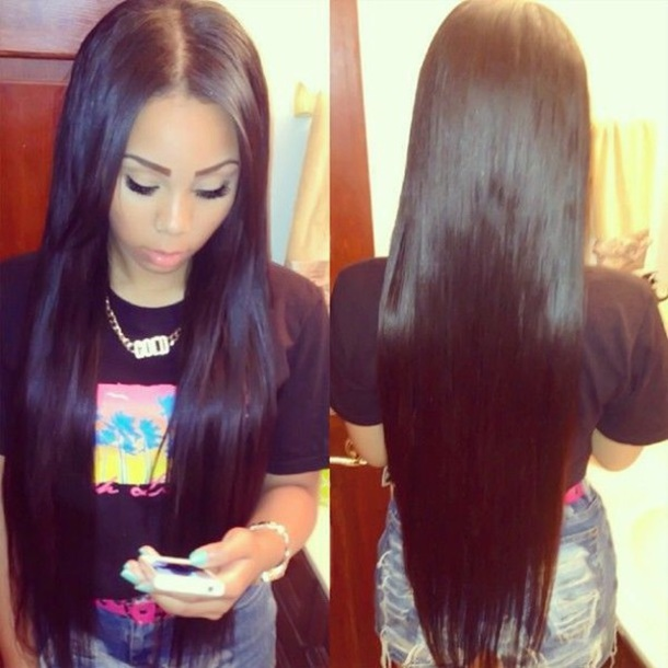 Extensions hair weave
