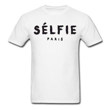 Selfie - Paris T-Shirt | Spreadshirt | ID: 13611104