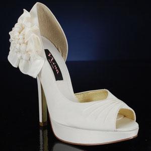 NINA NEVA-LS-IVORY IVORY Wedding and Bridesmaids Shoes IVORY Bridal Shoes