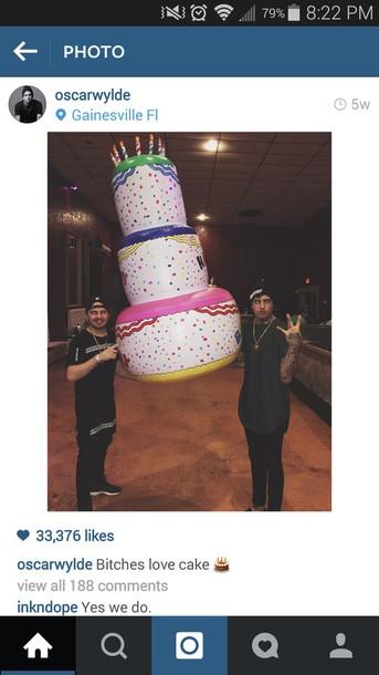 jewels cake inflatable oscarwylde