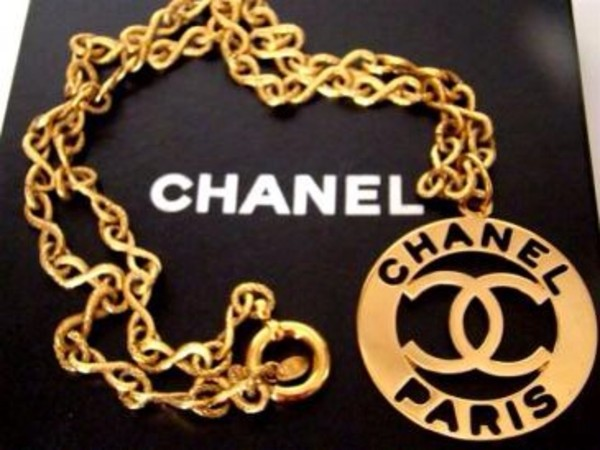 jewels chanel chanel necklace gold dope